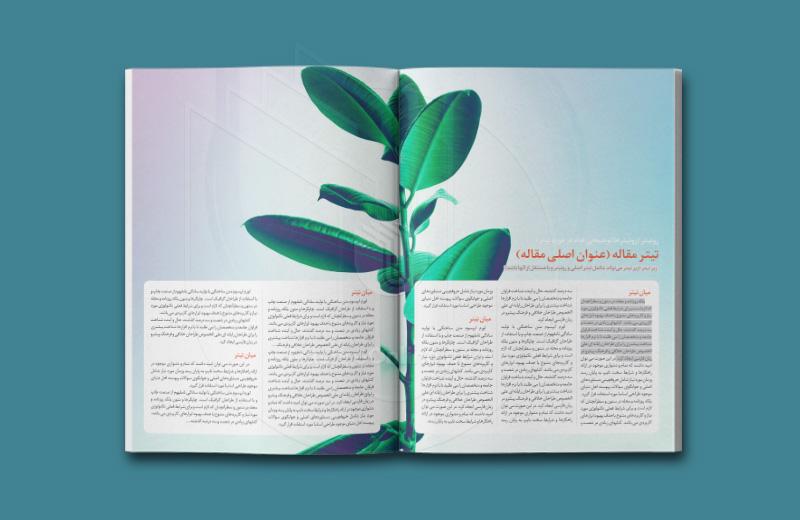 قالب مجله
