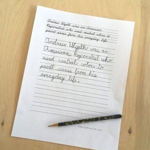 نوشتن نامه