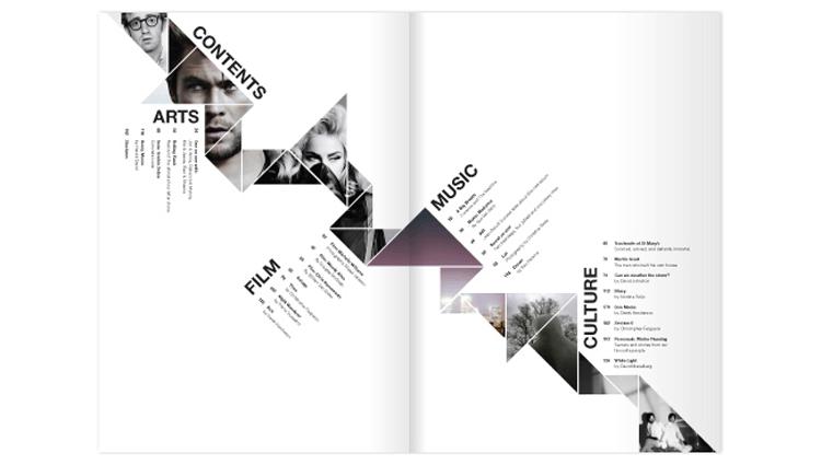 Kaleidmag - 5 روش طراحی و صفحهآرایی مجله